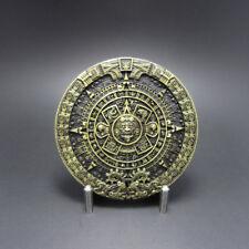 Men Belt Buckle Aztec Calendar Belt Buckle Gurtelschnalle Boucle de ceinture