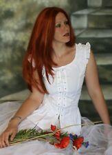 Edad Media MAGD GOTHIC blusa blusa corpiño Steampunk Victoriana ELISA