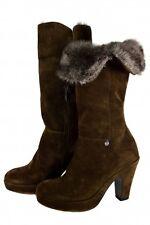 Miss Roberta crosta Scarpe Donna Stivaletti Stivali Stivali Grande Inverno