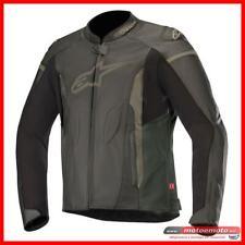Giacca Moto Pelle Alpinestars Faster Leather Nera Sport Naked fino a talgia 64