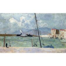 Le port de Cannes-P Bonnard Imprimer