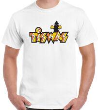 Tiswas Hombre Divertido Retro Sábado de día SERIE TV Programa Camiseta tizwas