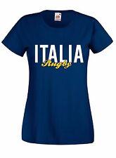T-shirt Maglietta donna J1660 Italia Rugby Sei Nazioni Maglia Terzo Tempo Beer