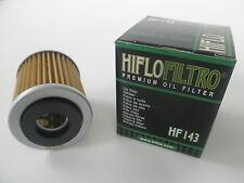 HIFLO FILTRO OLIO HF143 PER YAMAHA  YFM250 Big Bear (07 08 09)