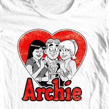 Archie Comics T-shirt 2 Girls retro comics Jughead Josie Pussycats cotton AC119