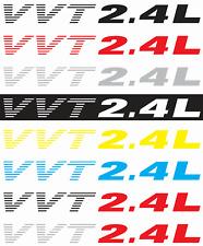 DODGE AVENGER 2.4L Vinyl Sticker Decals - SET of 2 - VVT2.4L