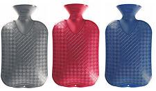 Plain Fashy Latex Free 2.0L Hot Water Bottle