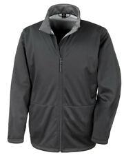 Result Core R209M Men's Softshell Fleece Jacket Full Zip Warm Winter Coat XS-3XL