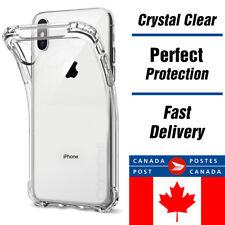 Clear bumper Case for iPhone X -TPU- Bumper Transparent Cover -Canada Shipping