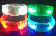 FLASH LED BRACELET wristband bangle Light motion/sound glow dance party holiday