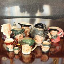 Selection of Royal Doulton Small, Mini & Tiny Character Jugs