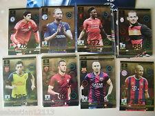 Adrenalyn XL Champions League 2014-2015 Limited Edition choice Ronaldo,Koke