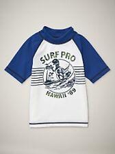 NWT Baby GAP Dinosaur Ocean Graphic Rashguard Swimwear Dino Swim Shirt Top NEW