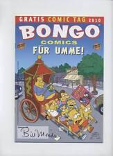 SIMPSONS: Bongo Comics per umme! - GRATIS COMIC tag 2010-firmato Bill Morrison