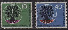 W Germany 1960 World Refugee Year SG 1240/1 FU