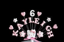 HELLO Kitty Fiore Compleanno / Festa CAKE TOPPER