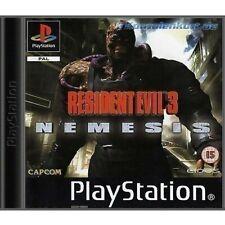 PS1 / Sony Playstation 1 - Resident Evil 3 - Nemesis (DEUTSCH) (mit OVP)