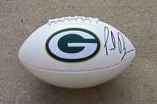 Green Bay Packers Paul Ryan Signed Autographed Football Coa! Proof! Mitt Romney