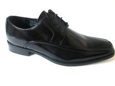 Giorgio Venture 6214 LEATHER MEN DRESS SHOE Black Oxfords Lace-Up Italien Design