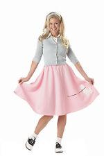 Adult Pink Poodle Skirt Costume