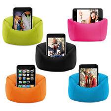 """Bolsa de Frijol Silla/soporte de todas las marcas de pantallas móviles hasta 5""""or su reproductor de MP3"""