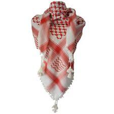 White Arafat arab scarf shawl Keffiyeh Kafiya shemagh palestine +Igal Agal set2