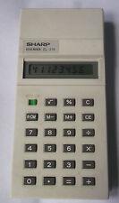 SHARP ELSI MATE EL-218 ELECTRONIC CALCULATOR 1970S 1980S VINTAGE 70S 80S +RARE+