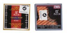 Classical Guitar Strings 28-43 Solid Value Premium Standard & Multi Coloured