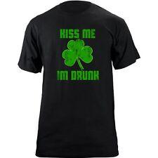 Vintage Kiss Me I'm Drunk Shamrock T-Shirt