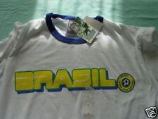 NEW 2006 BRASIL SOCCER FOOTBALL  T-SHIRT SZ L