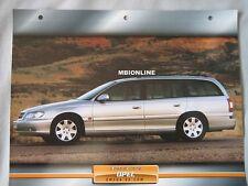 Opel Omega V8.Com Dream Cars Card