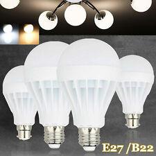 LED Globe Light Bulbs 12W 9W 7W 5W 3W E27 Screw B22 Bayonet Base Lamp 85-265V GL