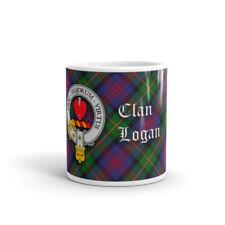 Logan Clan Crest Coffee / Tea Mug - Scottish Cup 10oz / 295ml