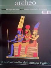 ARCHEO 195 2001 Etiopia alle origini dell'uomo. Nuovo volto dell'antico Egitto