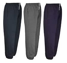 Men's Casual Polaire Survêtement Élastique Jogging Gym Bas Pantalon Taille S-10XL