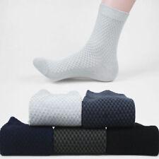 Wholesale Comfortable Men Bamboo Fiber Socks Casual Business Anti-Bacterial Sock