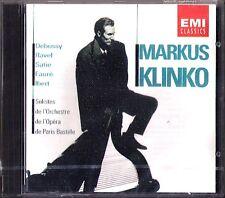 Markus KLINKO Debussy Faure Ibert Ravel Satie HARP CD Gymnopedie Berceuse Harfe
