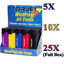 Genuine Torjet Lighters Windproof Jet Flame refillable 100% original
