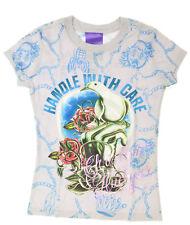 Christian Audigier Designer T-Shirt Handle with Care  Neu m.Et.
