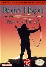 ***ROBIN HOOD PRINCE OF THIEVES NES NINTENDO GAME COSMETIC WEAR~~~