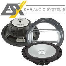 ESX SE-6.2W 165mm Kickbass Woofer Lautsprecher Paar mit Gitter 400Watt max.