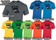 Skoda 120 Inspiré T-shirt homme. Cadeau pour Papa, Oncle Frère etc