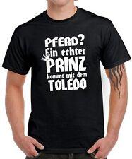 Caballo? un verdadero príncipe viene con el toledo * tuning seat sátira T-Shirt