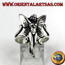 Anello In Argento Fatina trilly  fata in argento 925
