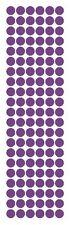 "3/8"" Lavender Round Vinyl Color Code Inventory Label Dot Stickers"