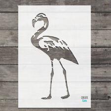 Flamingo STENCIL Home Interior Decor Airbrush Craft Painting Bird Template
