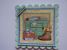 Confezione da 2 Decorazioni per Giardino Strumento Capanni per schede e Carte