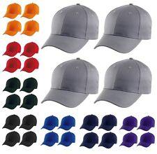 4x Champion Baseball Cap Navy Blue Black Mens Boys Hat Group Club Pack Bulk