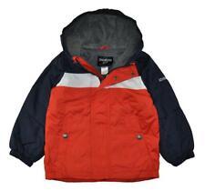 Osh Kosh Bgosh Boys Chest Stripe Fleece Lined Jacket Size...