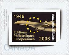 """CO-RET22N 1 TPP CANADA """"Concorde - Editions Philatéliques Européennes 1946-2006"""""""